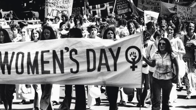 Protestos no Dia Internacional da Mulher