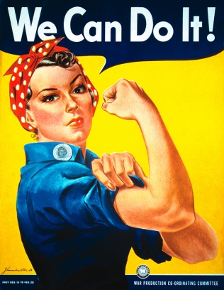 Dia Internacional da Mulher - We Can Do It!