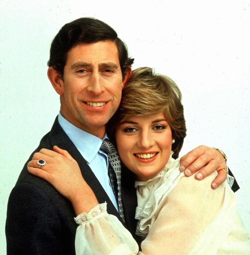Príncipe Charles e Lady Diana