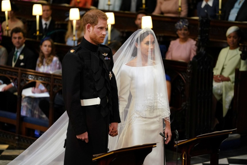 Meghan e Harry (Foto- Dominic Lipinski:Pool via REUTERS)