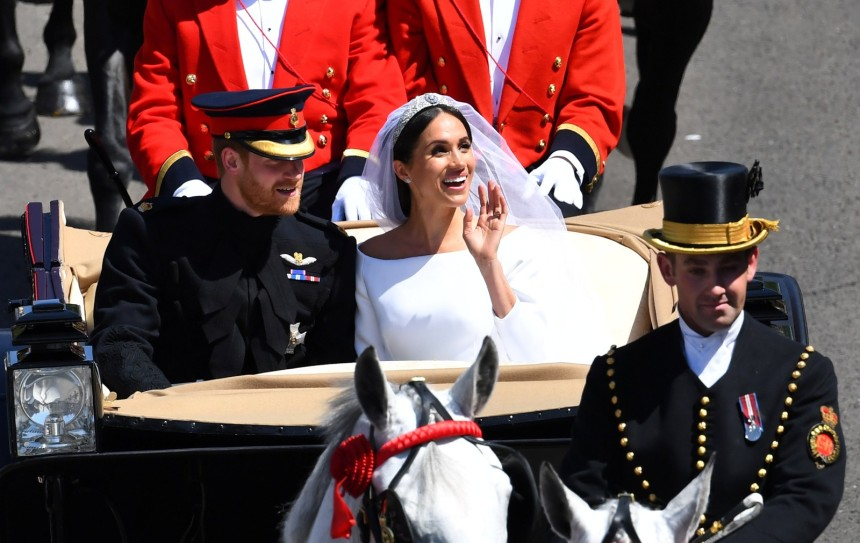Meghan e Harry (Foto- Dylan Martinez:Reuters)